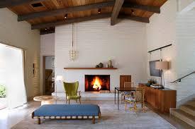 imaginative mid century modern fireplace remod 12812