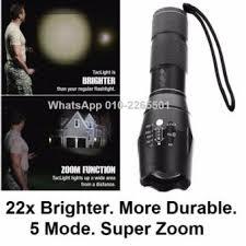 tac light flash light shop online aluminum alloy 5 modes lotus shape turbo light