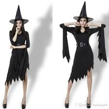witch costume witch costumes luxury black irregular witch clothing witch