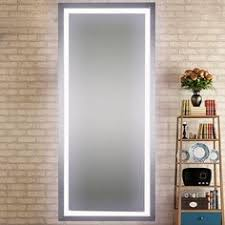 full length mirror with led lights diy vanity mirror with lights for bathroom and makeup station