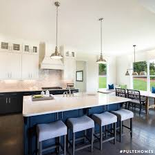 two toned is better than one pairing classic white cabinets with