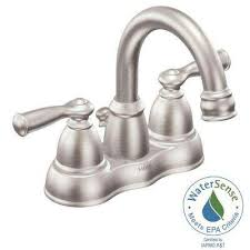 Moen Chateau Bathroom Faucet Chateau Chrome One Handle Bathroom Faucet L4621 Moenpro Moen