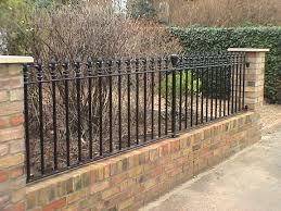 Garden Wall Railings by Journeyman Metals Bespoke Gate U0026 Railing Specialists U2013 All Aspects