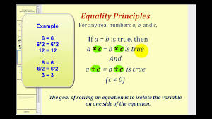 solving one step equations by multiplication and division
