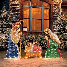 lighted outdoor nativity outdoor christmas nativity sets absolute christmas
