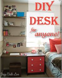 student desk for bedroom perfect for studying do it yourself desk diy student design