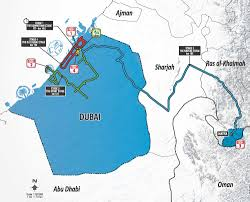Dubai Map Of Middle East by Cavendish Cancellara Costa And Kittel For Dubai Tour Cycling