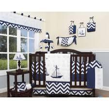 Grey Chevron Crib Bedding Set Chevron Crib Bedding Pieces You U0027ll Love Wayfair