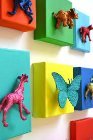 Top  Most Adorable DIY Wall Art Projects For Kids Room - Wall paint for kids room