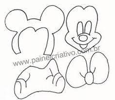 moldes minnie mouse en goma eva imprimir fonetricks