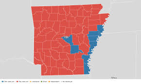 State Of Arkansas Map by Arkansas Election Results 2016 Live Maps Polling Analysis