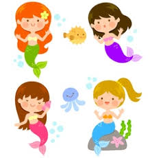 mermaid vector images 2 700