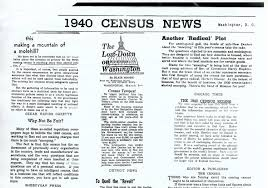 the 1940 census employment and income national archives