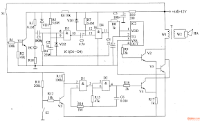 car alarm circuit diagram wiring diagram simonand