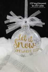 diy christmas ornaments with the cricut hey let u0027s make stuff