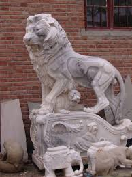 marble lions marble lions animal marble sculpture am 005 lions china