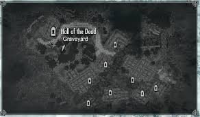 Treasure Map 3 Skyrim Falkreath Graveyard Skyrim Wiki