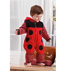 Ladybug Baby Halloween Costume Thickened Ladybug Shape Romper N6296
