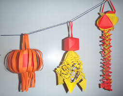 how to make paper lantern decorations for chinese new year