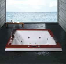 Bathtub Jet Covers Hs B1621t Rectangle Rock Bathtub Massage Jet Covers Drop In Tub