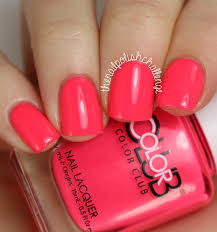 live love polish neon color club polish swatch spam the nail