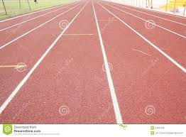 athletic track royalty free stock image image 34951566