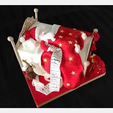Christmas Cake Decorations Auckland sleeping santa strawberry sky couture cake designer wedding
