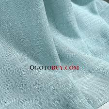 Light Linen Curtains Light Blue Eco Friendly Linen Simple Design Sheer Curtain Buy