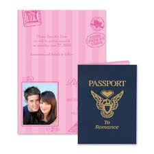 Save The Date Samples Passport To Romance Save The Date Card Invitations By Dawn