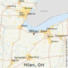 milan ohio map best places to live in milan ohio