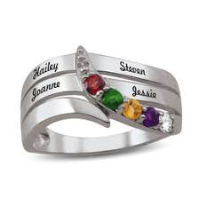 family birthstone rings mothers and family rings rings zales
