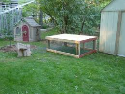 kids playhouse cottage backyard chickens