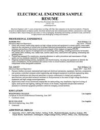 free download resume format for electrical engineers cv format for electrical engineers free download and experience