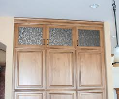 Kitchen Cabinet Door Glass Inserts Glass Inserts For Cabinets Bar Cabinet