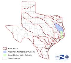 Texas rivers images Maps jurisdiction angelina neches river authority png