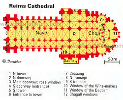 reims cathedral floor plan reims cathedral floor plan map reims cathedral pinterest