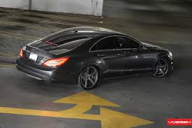 mercedes amg 550 cls mercedes cls 550 c218 on vossen wheels the of