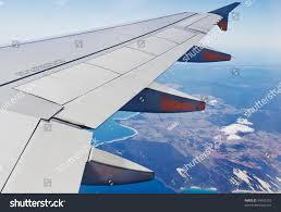 view jet plane wing cloud patterns stock photo 94045153 shutterstock
