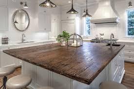 kitchen island countertop overhang oak countertops cottage kitchen frasier homes