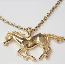 horse necklace pendant images Gold horse necklace pendant lovehorsegifts jpg