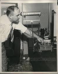 us bureau of standards 1931 press photo l b tuckerman of u s bureau of standards
