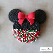 Mickey And Minnie Outdoor Christmas Decor by Mickey U0026 Minnie Mouse Christmas Cookies No Bake Disney Treats