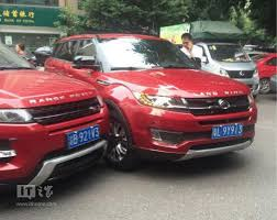 China U0027s Landwind X7 Copycat Crashes Into Range Rover Evoque