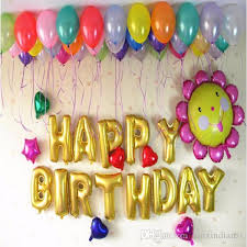letter balloons balloons 16 inch letter balloons wedding birthday party baby