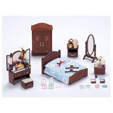 set chambre sylvanian families set chambre parents dumong la maison des jouets