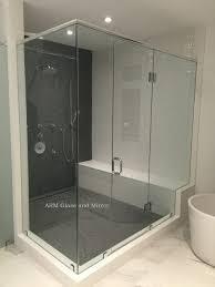 glass tub shower doors frameless bathroom modern sliding doors internal white french doors