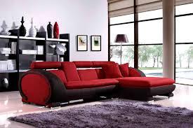 red and black living room set dark brown wooden headboard storage