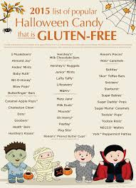 gluten free candy list for this halloween