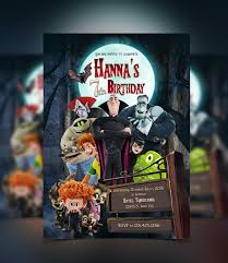 Kids Halloween Birthday Party Invitations by Hotel Transylvania Invitation Halloween Pinterest Hotel