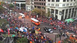 2014 san francisco giants world series parade the 6 minute time